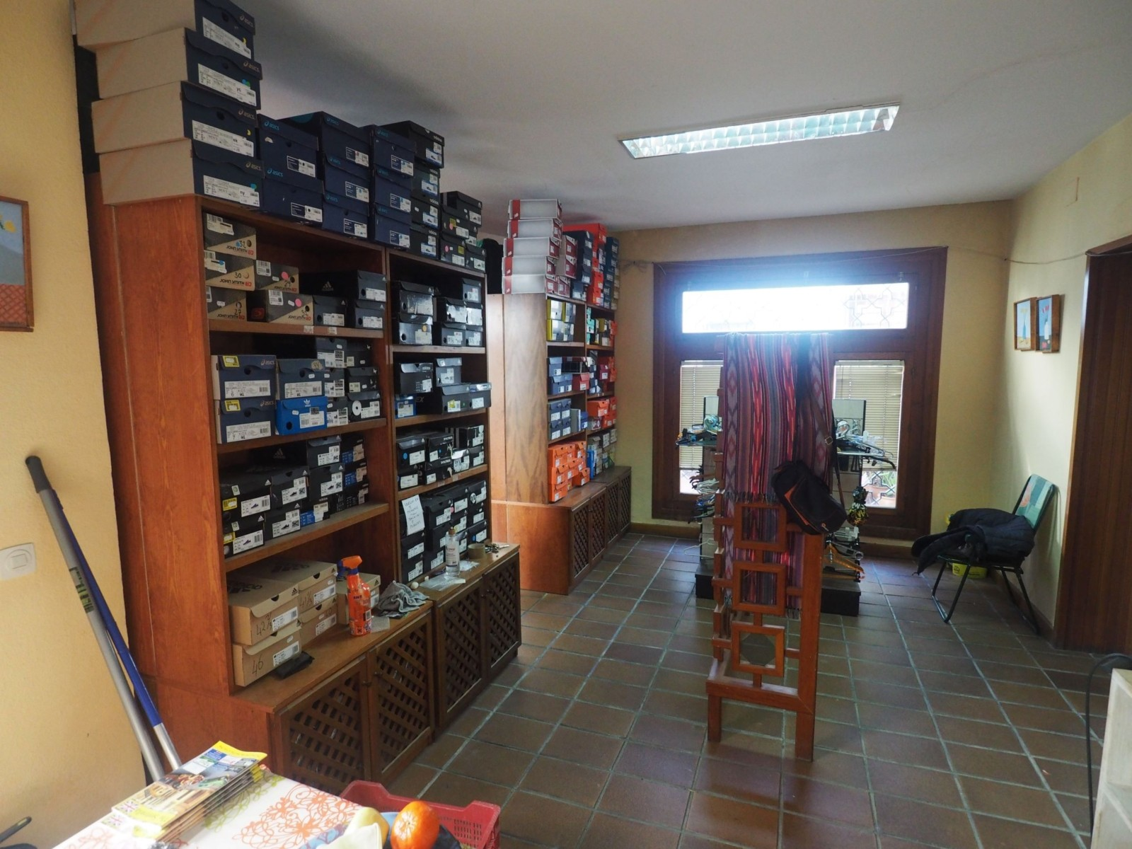Storage Room 1 Looking Toward Showroom Door